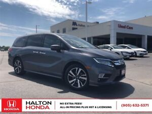 2018 Honda Odyssey Touring|SERVICE HISTORY ON FILE|ACCIDENT FREE