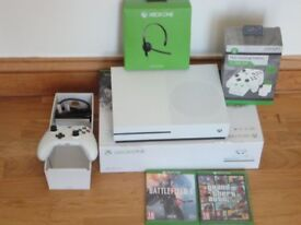 XBOX ONE S 500GB WITH GAMES LIKE BRAND NEW