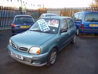 Nissan Micra se 16v,5 door hatchback,clean tidy car,cheap insurance,great on petrol,YD51TBV