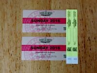 Goodwood Revival Tickets for Sunday 11th September 2016 & Child Entry Wristbands