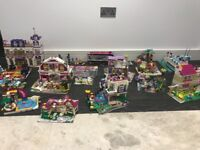 Lego Friends mega bundle complete with instructions