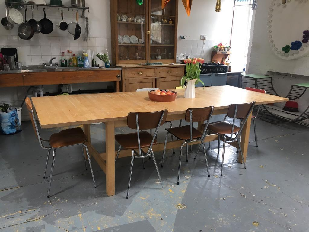 Long Kitchen Table Ikea
