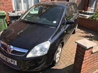 2008/58 diesel automatic Vauxhall zafira 7 seater for swaps