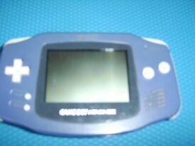 Nintendo Game Boy Advance +case +2 games