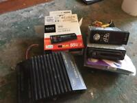 Car stereos and amps