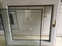UPVC double glazed tilt n turn window