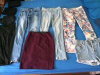 Ladies trousers/ skirts/ shorts/ leggings size 8-10