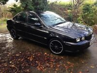 For sale: Jaguar X Type Classic. 2.0 Turbo Diesel 2005. Black. Or Swap for Large Motorcycle.