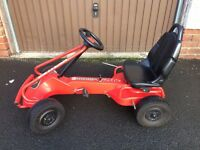 ketler pedal go kart suit 6 to 10 years Red