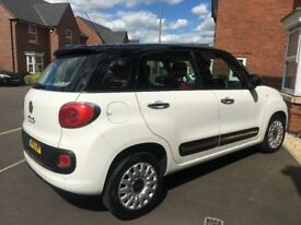 2013 FIAT 500L 1.6L DIESEL Multi-Jet Easy - 2 lady owners, cruise control, Bluetooth & stop/start