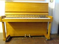 Danemann professional upright piano fully reconditioned and guaranteed