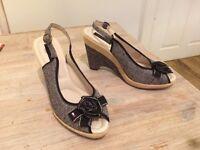 Tommy Hilfiger high heel sandals size 7