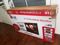 LG 34UM95-P Ultrawide 21:9 3440 x 1440 IPS Monitor with Thunderbolt
