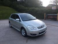 **LOW MILES+TOYOTA COROLLA COLOUR COLLECTION 1.4 PETROL (2007 YEAR)**