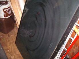 Large Glass Rangemaster Oven Splashback (high quality) perfect condition