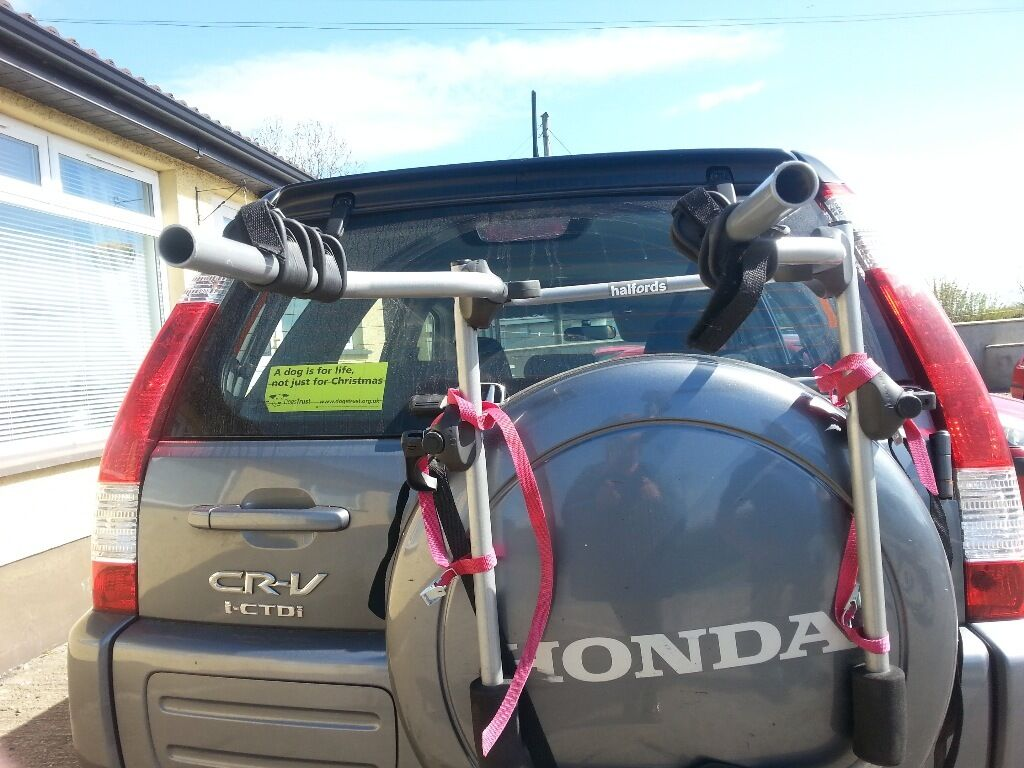 Halfords 4x4 Spare Wheel Cycle Carrier Bike Rack In Moira