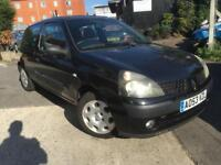 2003/53 Renault Clio 1.2 Extreme 2 1149cc 5G Low Millage Only Covered 50K Ideal First Car