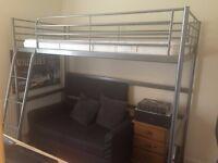 Sell IKEA SVÄRTA Single Loft Bed