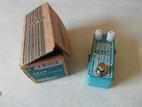 Malekko Omicron Trem analog tremolo pedal (boxed)