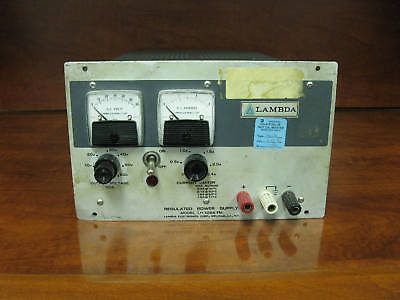 Lambda Regulated Power Supply Model Lh 128a Fm