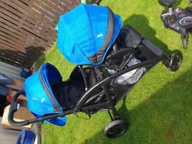 joie double buggy