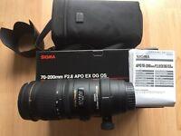 Sigma 70-20mm f2.8 APO EX DG OS - Canon fit lens