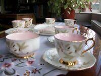 Tea cups .
