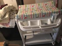 Baby changing unit (£20)