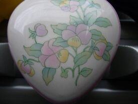 Vintage Royal Worcester Chantille trinket box