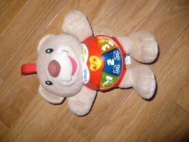 Vtech Little Singing Alfie Bear. Very good condition.