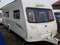 2006 Bailey Senator Arizona 4 Berth Side Dinette End Washroom Caravan with MOTOR MOVER, Solar Panel