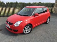 2010 60 SUZUKI SWIFT 1.4 SZ4 *FULL M.O.T*, SERVICE HISTORY, 2 FORMER KEEPERS FROM NEW