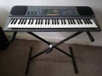 Casio CTK 601 Retro Keyboard plus stand - Excellent condition