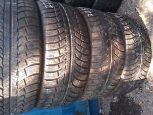 P225/45R17X4 GISLAVED NORD FROST WINTER TIRES USED FOR SALE