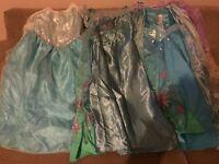 3 Frozen Elsa dresses age 5-6