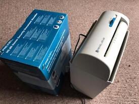 Document shredder - Rexel HS-80 home document shredder