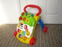 Baby walker with activity board Vtech 'First steps'