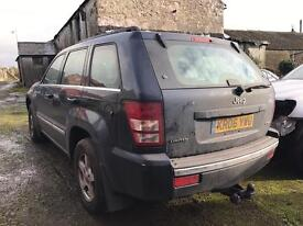 Jeep Grand Cherokee 3.0crd / Breaking all parts