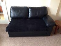 FREE black corner sofa bed double