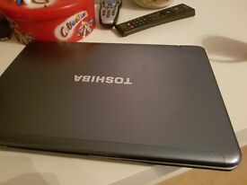 For sale used laptop !! Toshiba satellite !!!