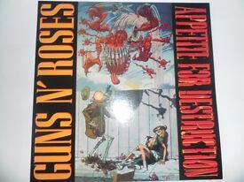 Guns n Roses Appetite For Destruction Green Vinyl new.