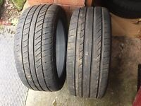 4 Tyres 225/45 r17 (late 2015)