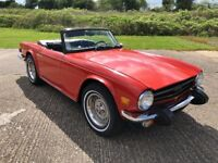 Triumph TR6 - For Restoration