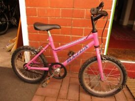 Girls Bike 16 inch wheels