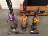 3 Dyson ball vacuums for sale