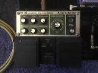 BOSS RE-20 SPACE ECHO GUITAR DELAY PEDAL