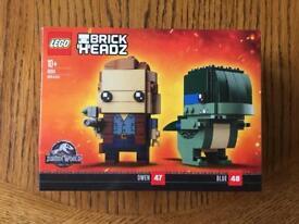 Lego Brickheadz 41614 Jurassic World Owen Blue Brand New Sealed