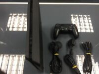 PS4 SLIM 500GB UNBOXED 3 MONTHS WARANTYINCLUDES ONE CONTROLLER AND ALL CABLES