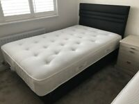 MOVING SALE! Therapur 1600 Anti-Gel Mattress + Double Bed
