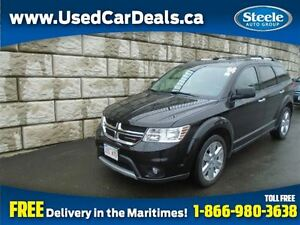 2014 Dodge Journey R/T V6 AWD Htd Lthr Alloys Bluetooth